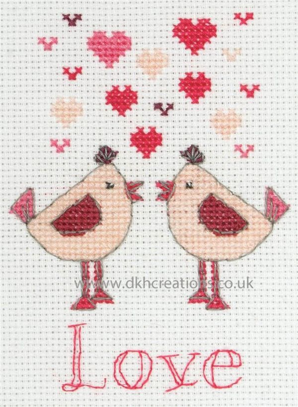 Valentines Cross Stitch Kit
